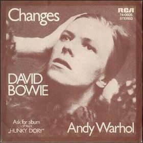 David Bowie Changes album cover