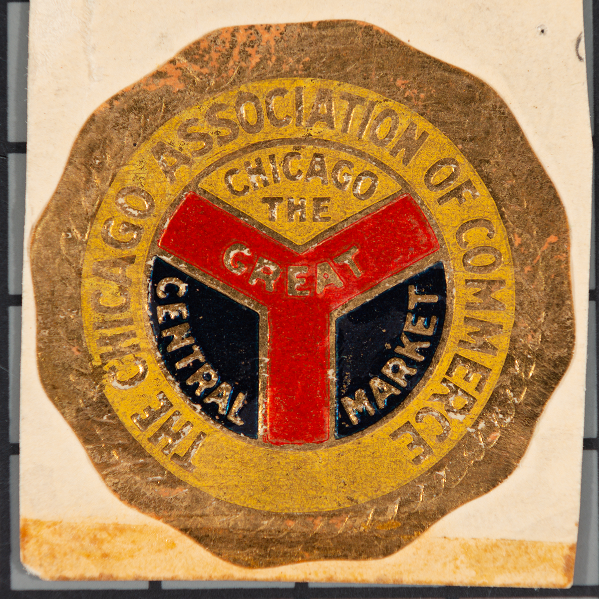 Original Municipal Device from the the Chicago Association of Commerce